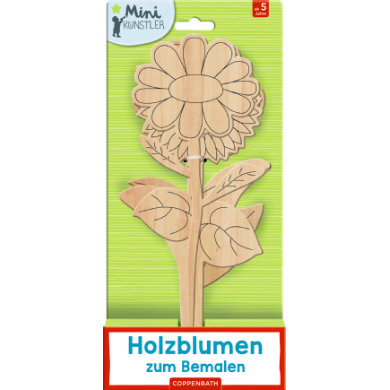 SPIEGELBURG COPPENRATH Houten bloemen om te schilderen