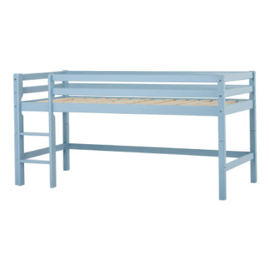 Hoppekids Halbhochbett Basic dream blue 90 x 200 cm