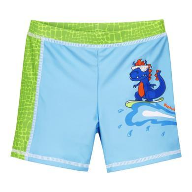 Minigirlbademode - Playshoes UV–Schutz Badeshorts Dino blau–grün - Onlineshop Babymarkt