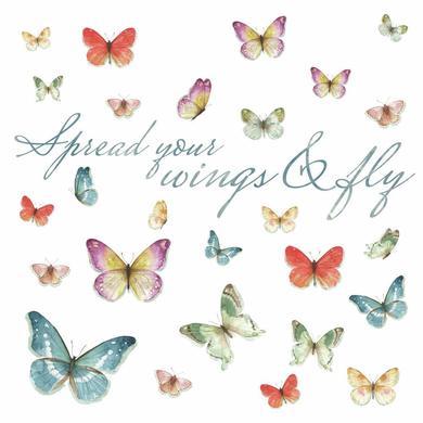 Wanddekoration - RoomMates® Wandsticker Schmetterlinge, Lisa Audit  - Onlineshop Babymarkt
