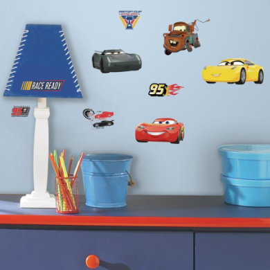 Wanddekoration - RoomMates® Disney Cars 3  - Onlineshop Babymarkt