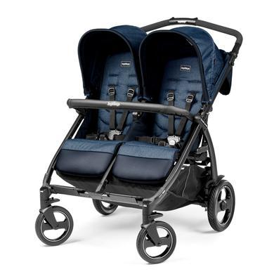 Peg-Pérego dubbele wandelwagen Boek voor Twee Indigo