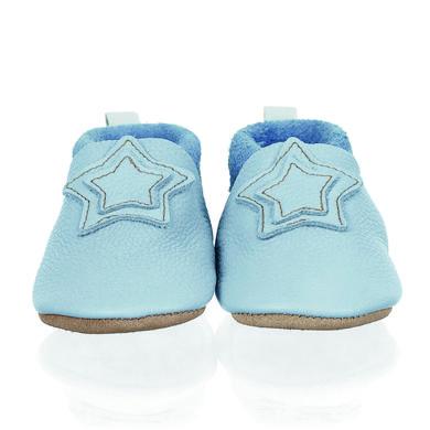 Babyschuhe - Sterntaler Baby–Krabbelschuh Leder hellblau - Onlineshop Babymarkt