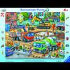 Ravensburger Rahmebpuzzle - Auf der Baustelle ist was los!