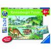 Ravensburger Puzzle WWW: Saurier und ihre Lebensräume