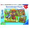 Ravensburger Puzzle - Ritterturnier im Mittelalter