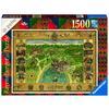 Ravensburger Puzzle: Hogwarts Karte