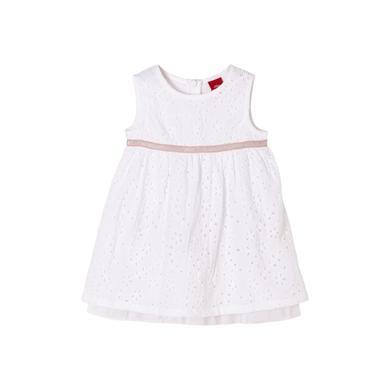 Minigirlroeckekleider - s.Oliver Kleid white - Onlineshop Babymarkt