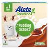 Alete Becherprodukt Pudding Schokolade 4 x 100 g ab dem 1. Jahr