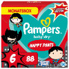 Pampers Baby-Dry Pants, Gr. 6 Extra Large Warner Brothers, 15+kg, Monatsbox (1 x 88 Höschenwindeln)
