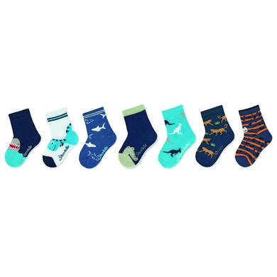 Sterntaler Ponožky, krabice 7 kusů marine
