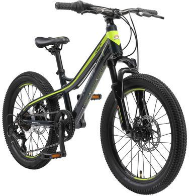 Kinderfahrrad - bikestar Kinderfahrrad Alu Hardtail Mountainbike 20 Schwarz - Onlineshop