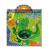 SES Creative® Magisches Pailetten-Malbuch, blau-grün