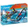 PLAYMOBIL® City Action Seenot: Polarsegler-Rettung mit Schlauchboot 70141