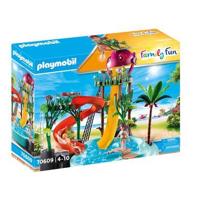 PLAYMOBIL ® Rodinný zábavní aquapark se skluzavkami 70609