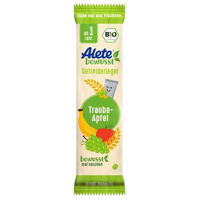 Alete Getreideriegel Apfel-Traube 25 g ab dem 1. Jahr