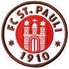 St. Pauli Aufnäher Logo braun