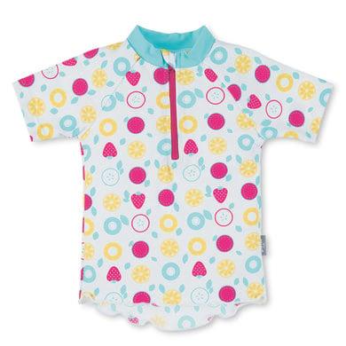 Minigirlbademode - Sterntaler Kurzarmschwimmshirt weiß - Onlineshop Babymarkt