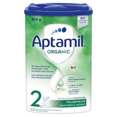 Aptamil Organic 2 Folgemilch nach dem 6. Monat, 800g