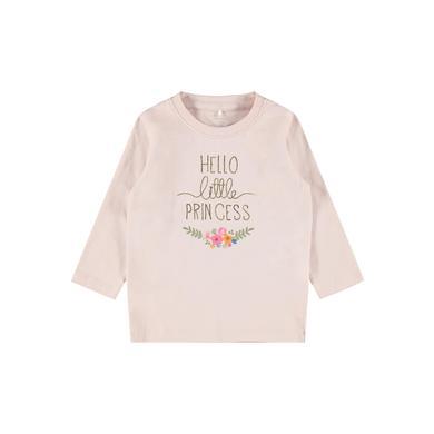 Babyoberteile - name it Langarmshirt NBFBIANCA Peach Whip - Onlineshop Babymarkt