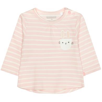 Babyoberteile - STACCATO Shirt soft blush gestreift - Onlineshop Babymarkt