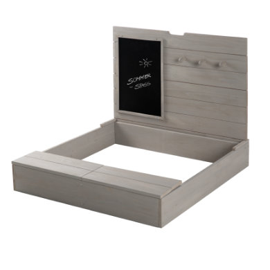roba Sand box s víkem, deskou a háčky