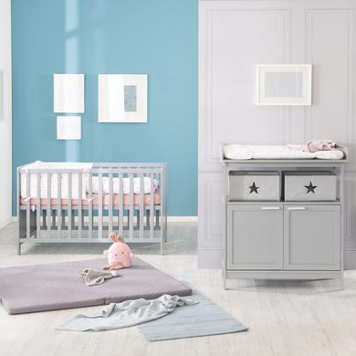 Babyzimmer - roba Sparset Hamburg taupe mit Türen  - Onlineshop Babymarkt