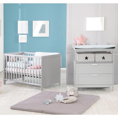 Babyzimmer - roba Sparset Hamburg taupe mit Schubladen  - Onlineshop Babymarkt