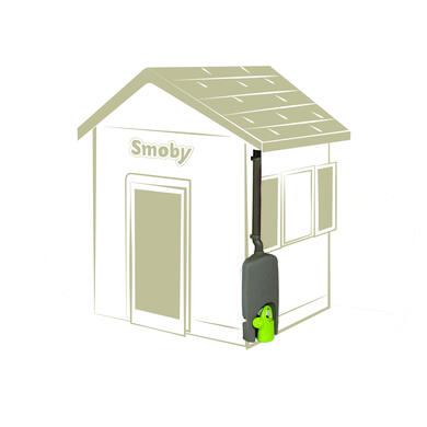 Spielhäuser und Sandkästen - Smoby Spielhaus Neo Jura Lodge Zubehör Regenfaß mit Gießkanne  - Onlineshop Babymarkt