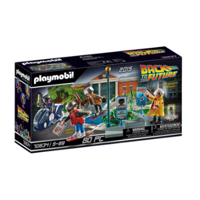 Image of PLAYMOBIL ® Back to the Future Parte II - Inseguimento sull'hoverboard