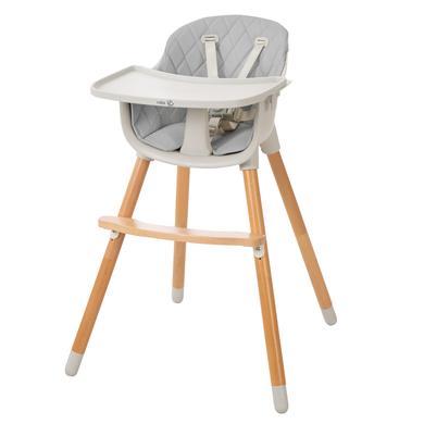 Hochstühle - roba 2 in 1 Hochstuhl Style Up Wood  - Onlineshop Babymarkt
