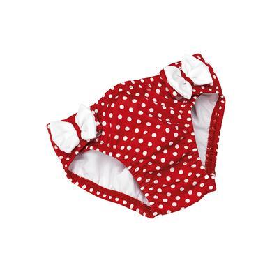 Babybademode - fashy Badewindelhöschen mit Klett in rot - Onlineshop Babymarkt