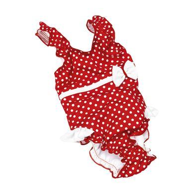 Babybademode - fashy Windel–Badeanzug mit Rüschen in rot - Onlineshop Babymarkt
