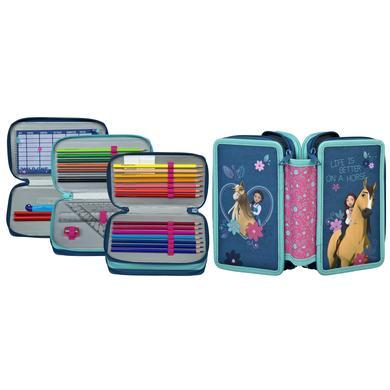 Accessoires - Scooli Triple Decker Spirit, gefülltes Schüleretui - Onlineshop Babymarkt