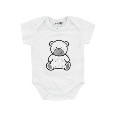 Babywaesche - JACKY Body kurzarm WELCOME weiß - Onlineshop Babymarkt