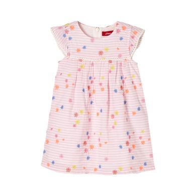 Minigirlroeckekleider - s.Oliver Kleid light pink placed - Onlineshop Babymarkt