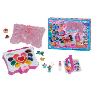 Image of Aquabeads® Herzschatullenset