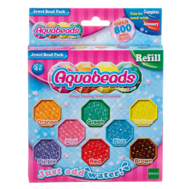 Image of Aquabeads® Glitzerperlen Nachfüllpack