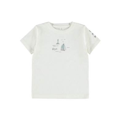 Babyoberteile - name it T–Shirt Nbmfital Snow White - Onlineshop Babymarkt