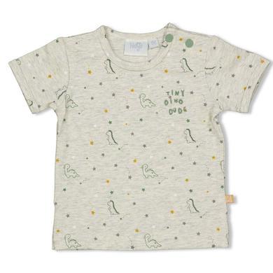Babyoberteile - Feetje T–Shirt Dinomite Grey Melange - Onlineshop Babymarkt