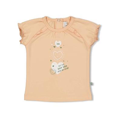 Babyoberteile - Feetje T–Shirt Hearts Perzik - Onlineshop Babymarkt