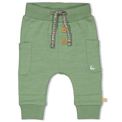 Babyhosen - Feetje Sweathose Dinomite grün - Onlineshop Babymarkt