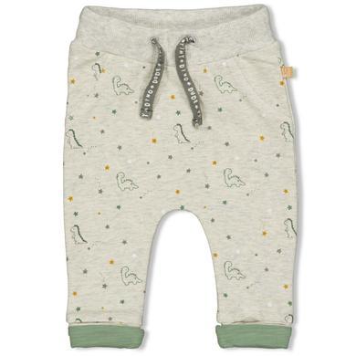 Babyhosen - Feetje Sweathose Dinomite Grey Melange - Onlineshop Babymarkt