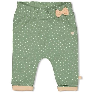 Babyhosen - Feetje Sweathose Hearts grün - Onlineshop Babymarkt