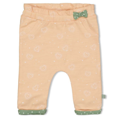 Babyhosen - Feetje Sweathose Hearts pfirsich - Onlineshop Babymarkt