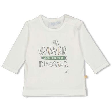 Babyoberteile - Feetje Longsleeve Rawrr Dinomite offwhite - Onlineshop Babymarkt
