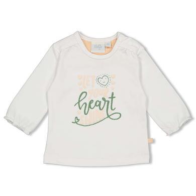 Babyoberteile - Feetje Longsleeve Shine Hearts weiß - Onlineshop Babymarkt