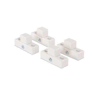babybay® Verbindungsbacken zum Laufstall passend für Modell Original, Midi, Maxi und Boxspring weiß lackiert