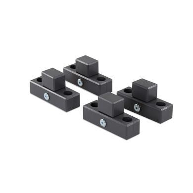 babybay® Verbindungsbacken zum Laufstall passend für Modell Original, Midi, Maxi und Boxspring schiefergrau lackiert