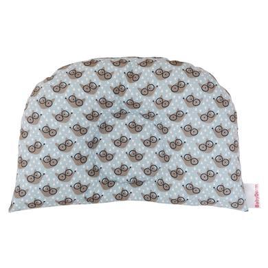 Image of BabyDorm® Kinderwagenkissen BuggyDorm Filou hellblau mit Füchschen